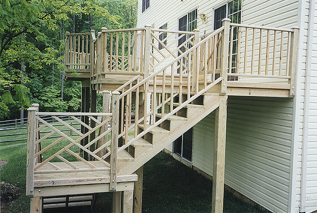 Decks patios woodcraft home improvements home - Bathroom remodeling montgomery county md ...
